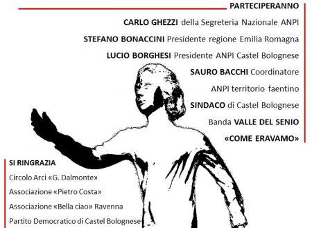 """Sabato 8 Giugno ore 10 inaugurazione monumento """"La staffetta partigiana"""""""