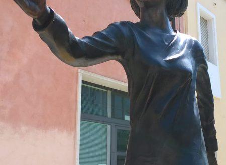 Le foto e il video dell'inaugurazione monumento dedicato alla Staffetta dell' 8 giugno 2019