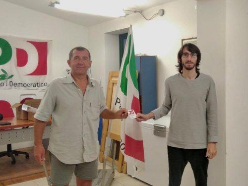 Consegnata la Tessera al neo segretario del PD di Castel Bolognese